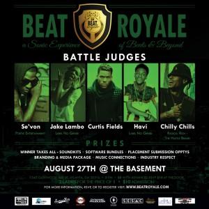 Beat Royale flyer